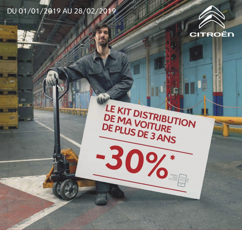 -30% sur le Kit de Distribution